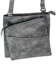 Jennifer Jones crossbody dámská kabelka šedá 3106