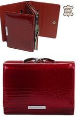 Jennifer Jones dámská peněženka kožená červená malá