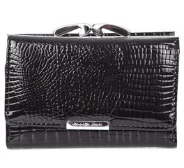 Jennifer Jones 5282 dámská malá peněženka kožená černá