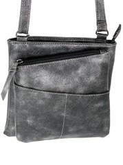 Jennifer Jones crossbody dámská kabelka černá 3106