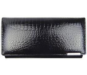 Jennifer Jones černá kožená peněženka 5288