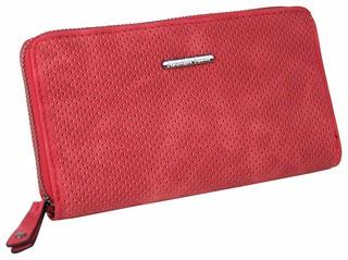 Dámská Kožená Peněženka Červená Jennifer Jones 1123
