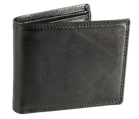Pánská kožená peněženka EuroFashion4u 333-BL