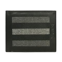 Pánská modrá kožená peněženka CAVALDI 701-EG Black/Gray