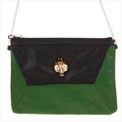 Galanto dámská malá kabelka přes rameno crossbody zelená