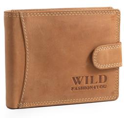 WILD FASHION4U pánská kožená peněženka WF5600L-NAT