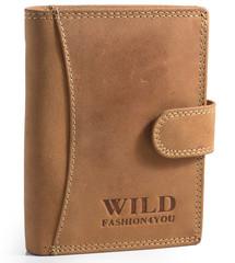 WILD FASHION4YOU pánská kožená peněženka WF5500L-NAT