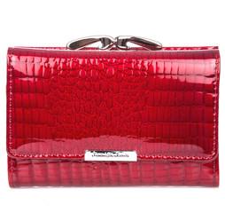 Jennifer Jones 5282 dámská malá červená peněženka kožená