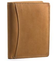 Pánská kožená peněženka HUN5500-NAT-bez logo