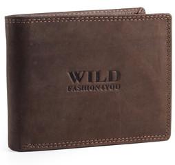 WILD FASHION4U pánská kožená peněženka WF305-BR