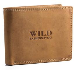 WILD FASHION4U pánská kožená peněženka WF305-NAT