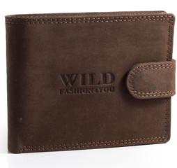 Pánská Kožená Peněženka WILD FASHION4YOU WF5700L-BR