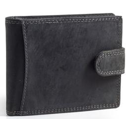 Pánská kožená peněženka Wild Fashion4u MTH5600L-BL