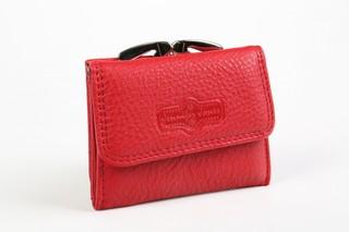 Dámská kožená peněženka malá Jennifer Jones 5258 ČERVENÁ